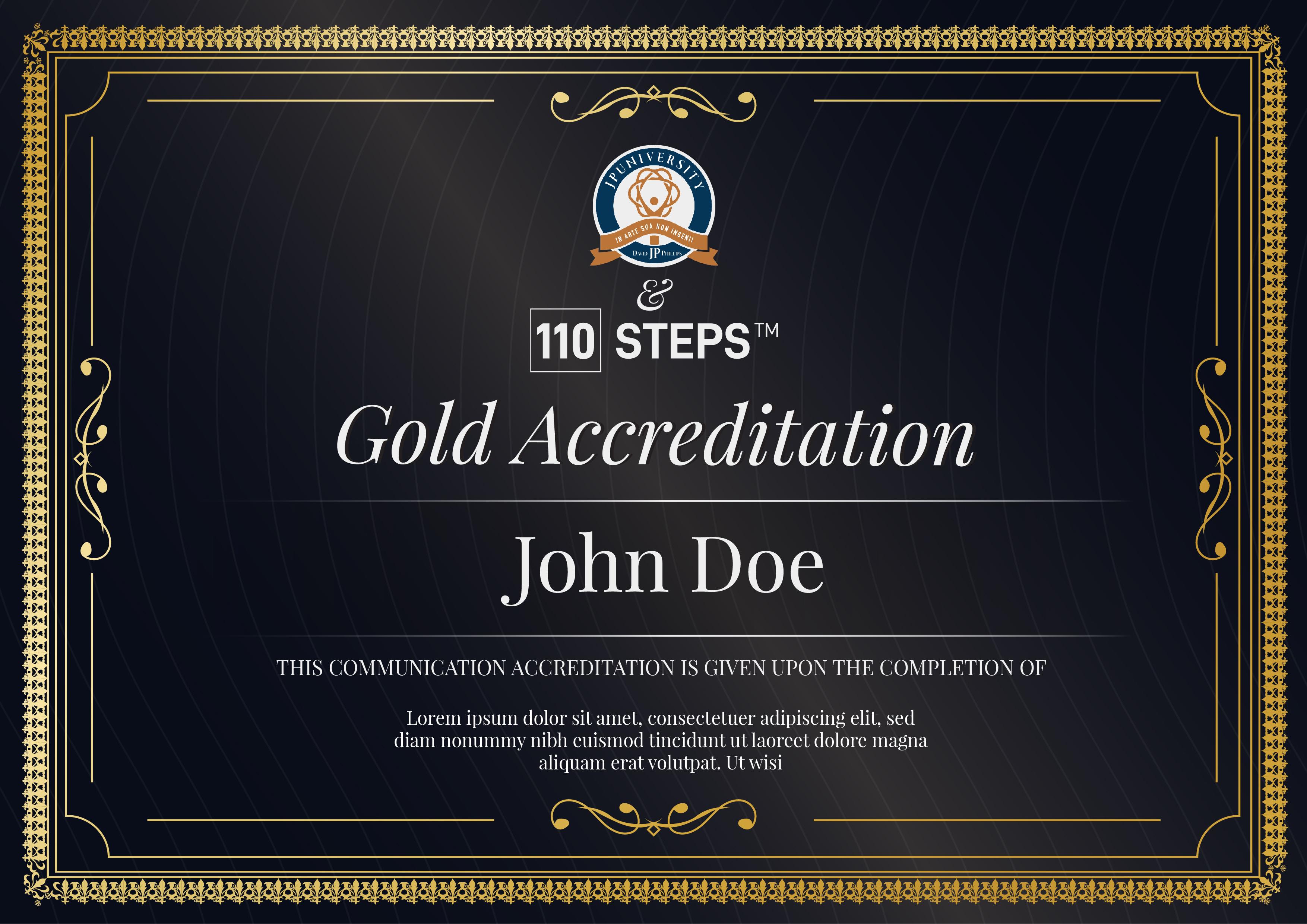 Master Diploma_Gold_Gold