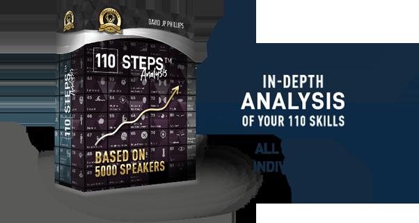 110 Steps Analysis | JP University | David JP Phillips