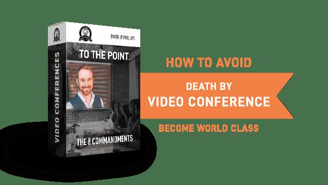 Death By Video Conference | David JP Phillips | JP University